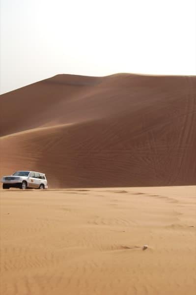 Desert safari Arabian Notes