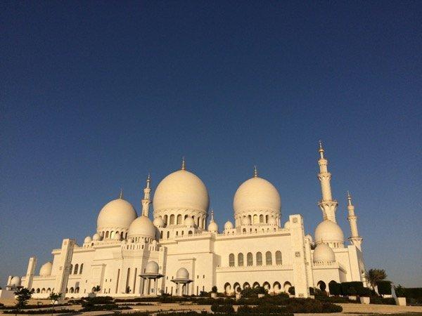 Sheikh Zayed Grand Mosque Arabian Notes
