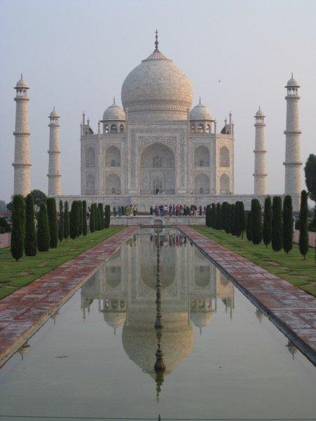 Taj Mahal, Agra, India, 2009
